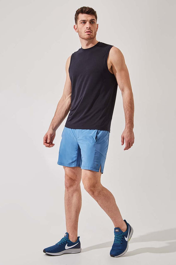 "Leeway 7"" Recycled Polyester Short with Liner - Sale"