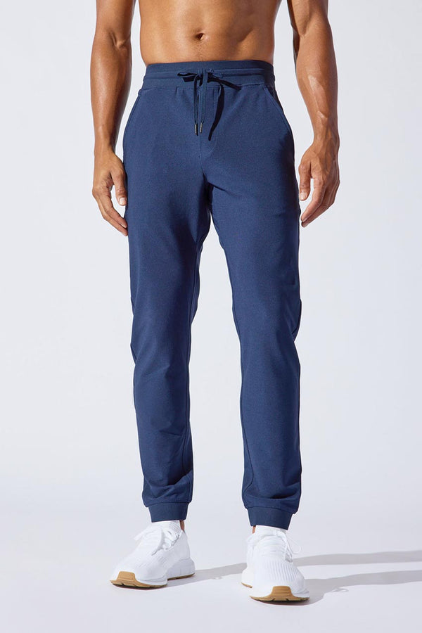 MPG Sport men's Gusto Recycled Polyester Everyday Jogger in Deep Navy