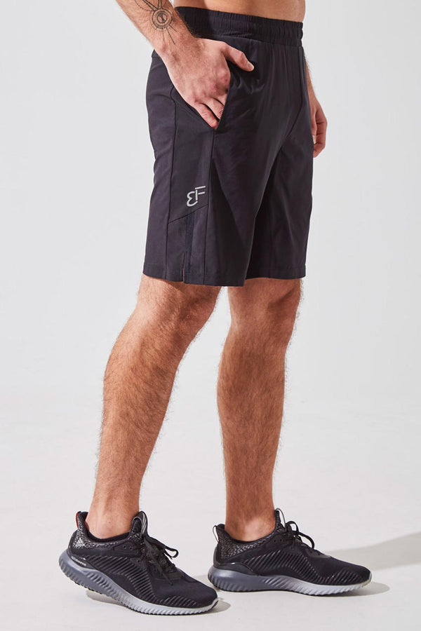 "MPG Sport men's NHL Captain Blake Wheeler collection Crux 9"" Sustainable Short with Liner in Black"