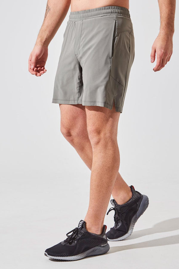 "MPG Sport men's Catch 7"" Recycled Polyester Short with Liner in Desert Sage"