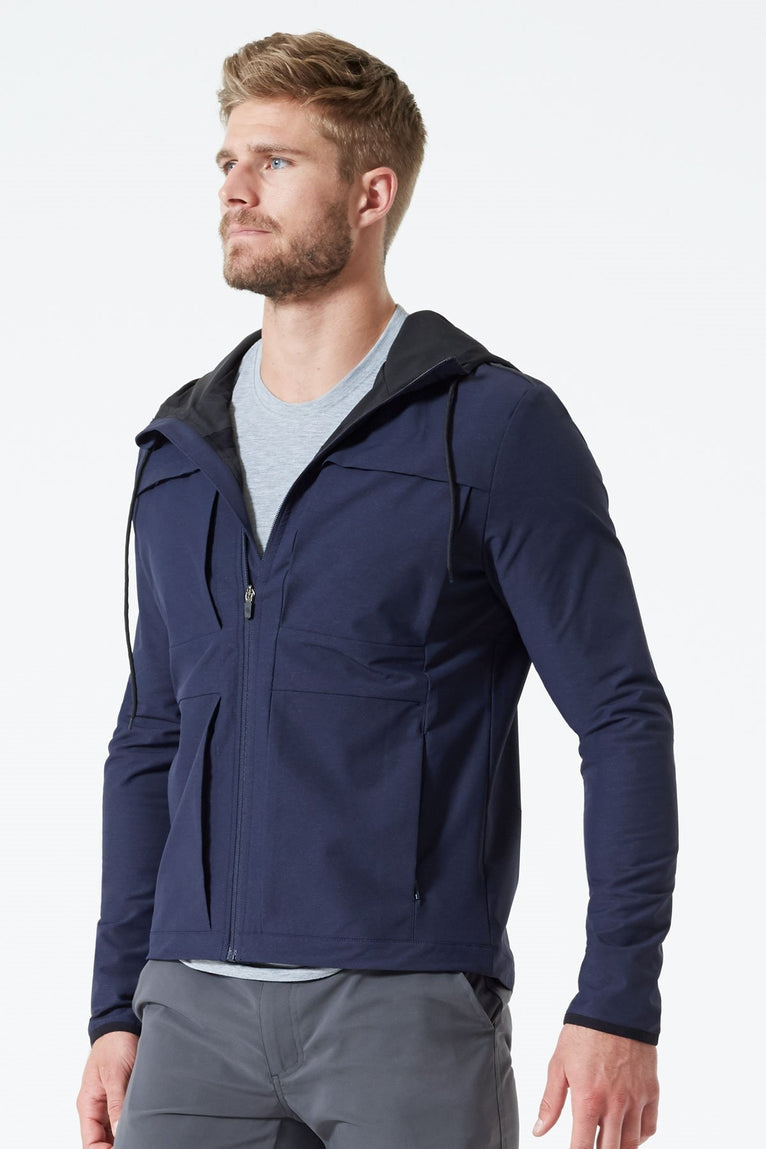 Oak Denim-Look Tech Jacket