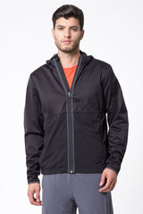 Double Agent Hooded Run Jacket