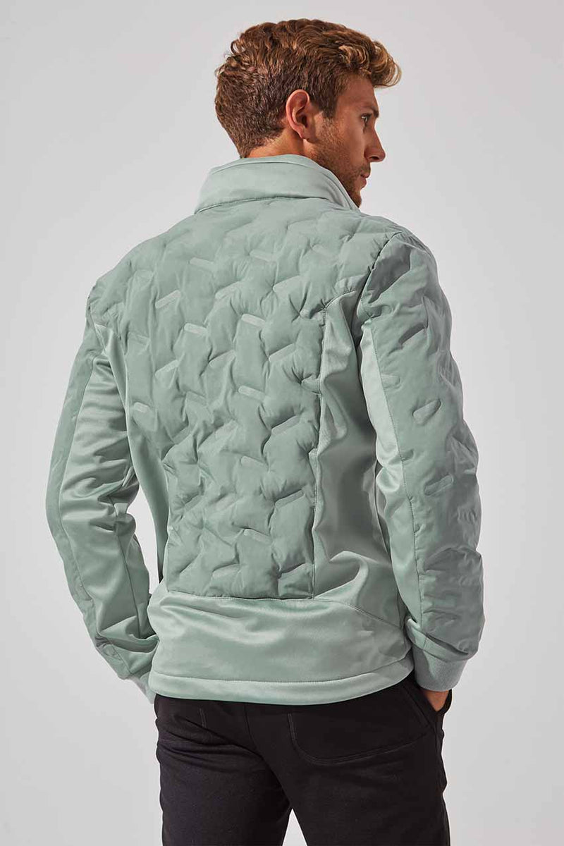 Capacity Insulated Mixed Media Jacket