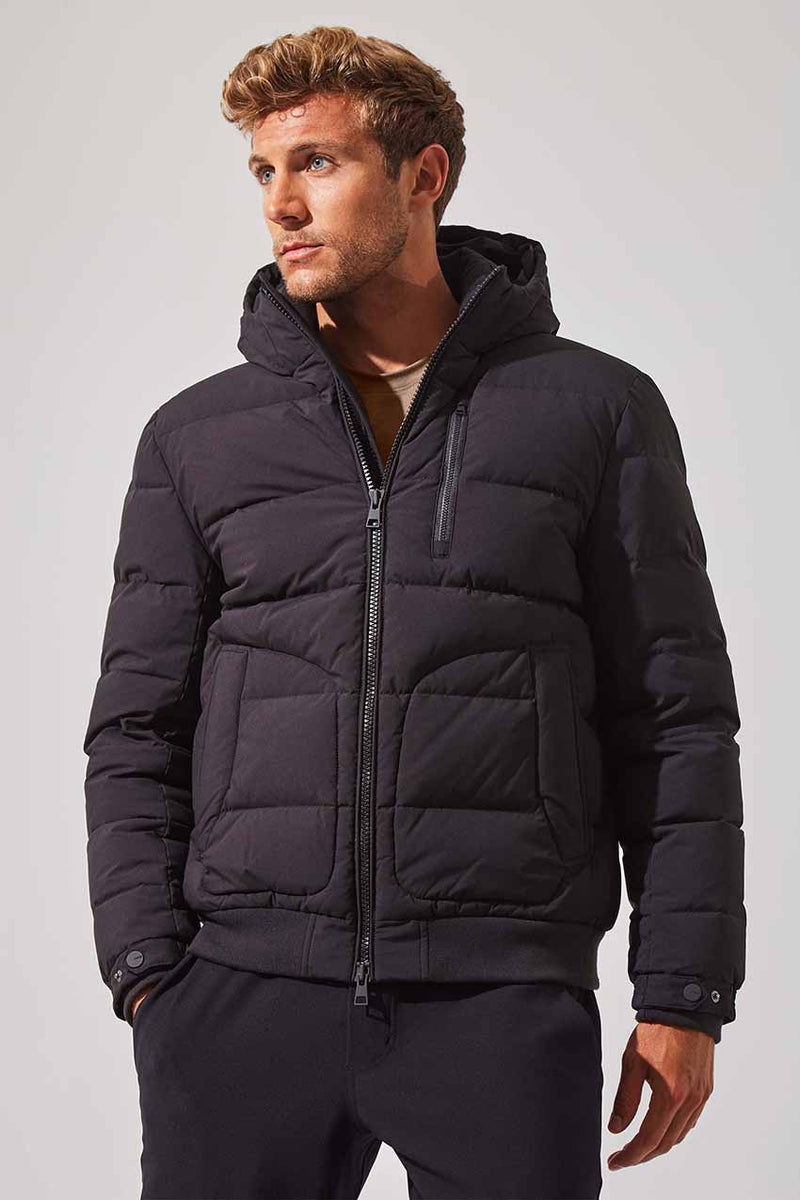MPG Sport men's Decisive Down Filled Parka in Black