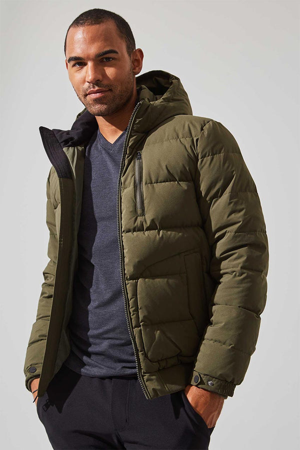 MPG Sport men's Decisive Down Filled Parka in Forest