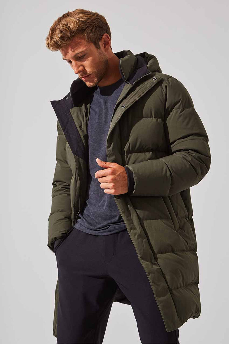 Latitude Down Filled Long Parka