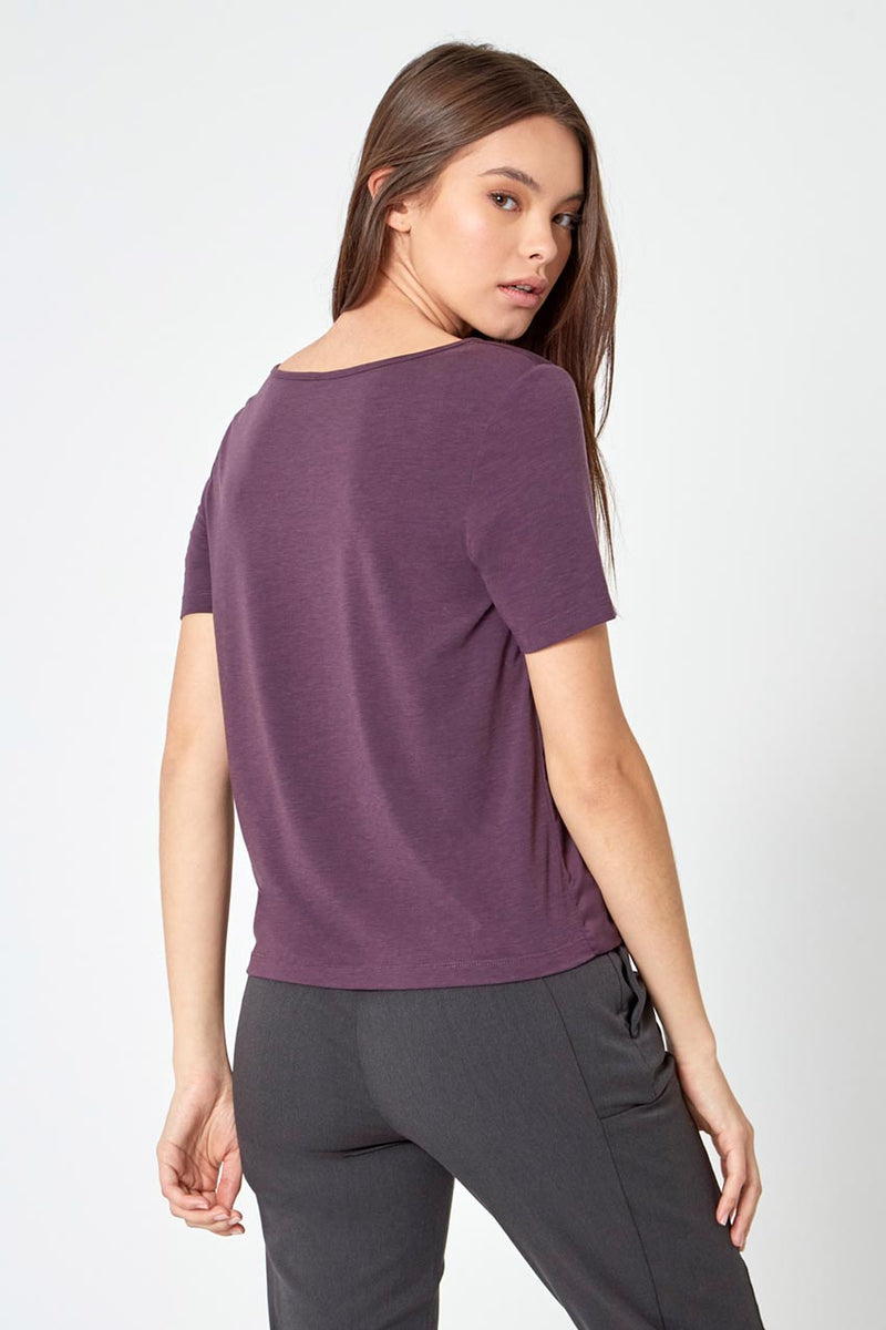Charisma Satin Front RapidDry Tee