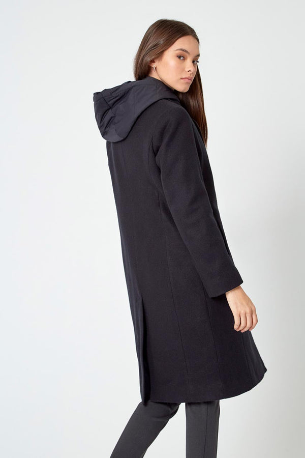 Goal-Getter Overcoat with Removable Hooded Fooler