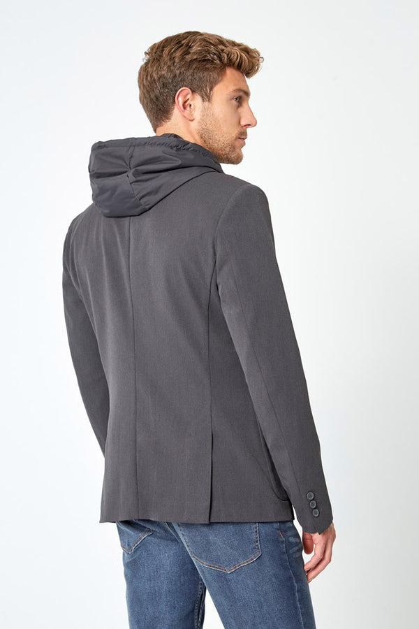 Tenacity Twill Blazer with Removable Hooded Fooler