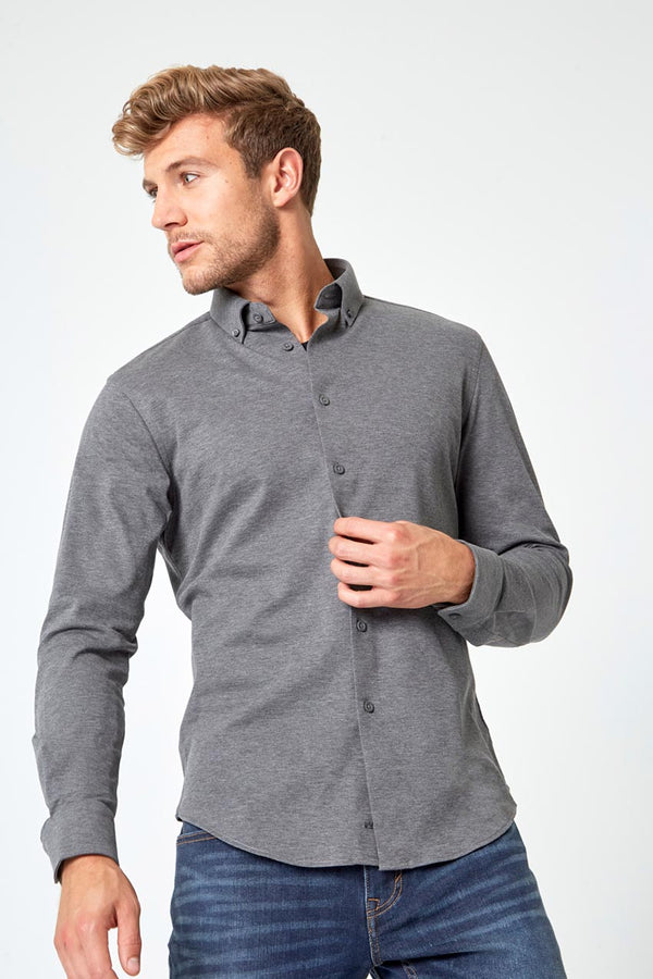 Integrity Slim-Fit FlexPique Shirt