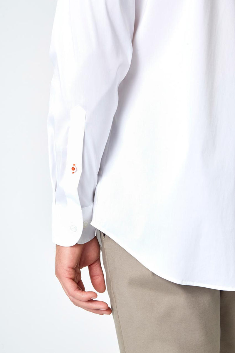 PerformLuxe Cotton Poplin Standard-Fit Shirt