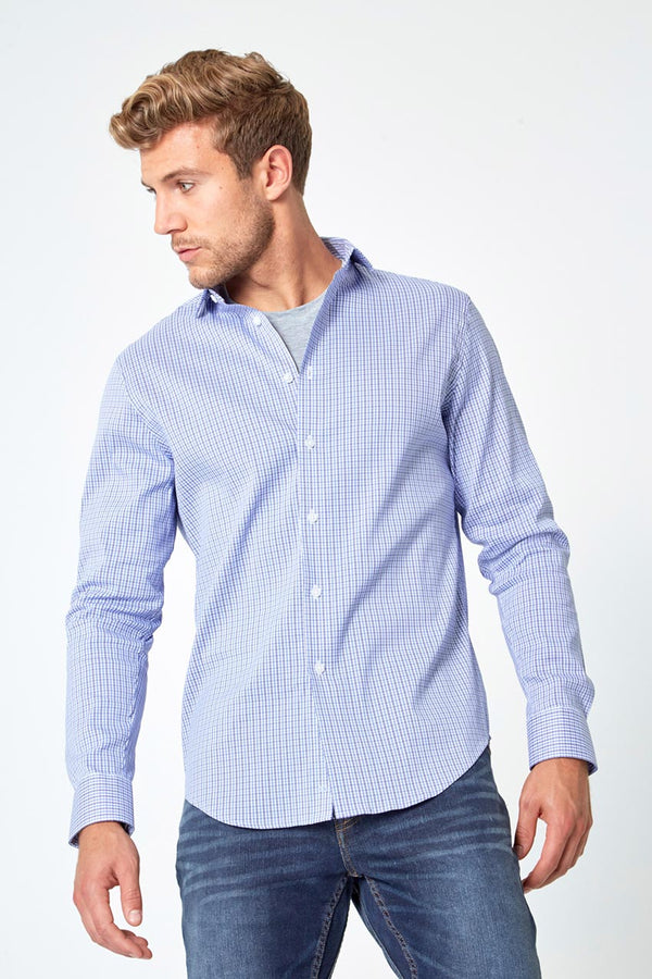 PerformLuxe Cotton Poplin Slim-Fit Shirt