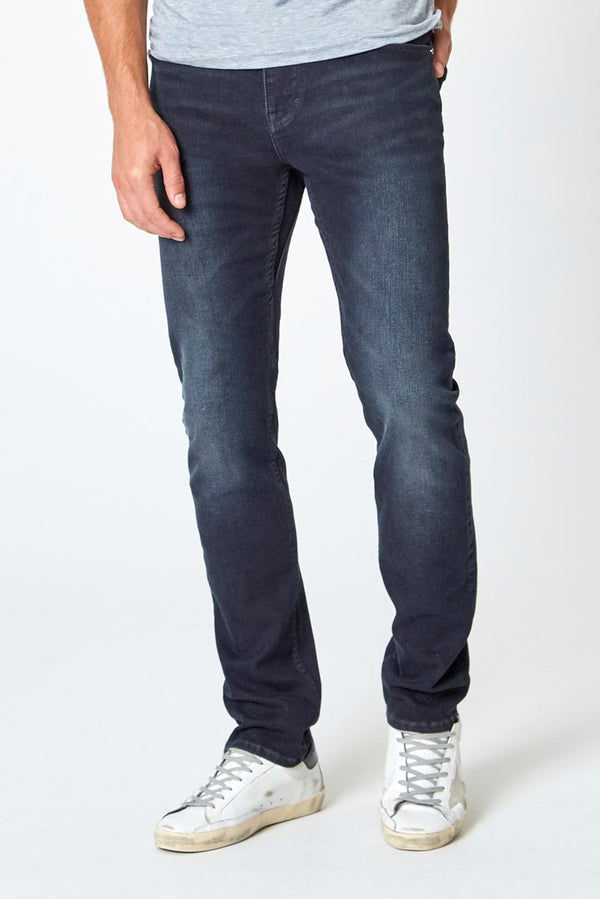 Modern Ambition work-ready men's PerformFit Escape Straight Dark Rinse Indigo Jeans in Indigo