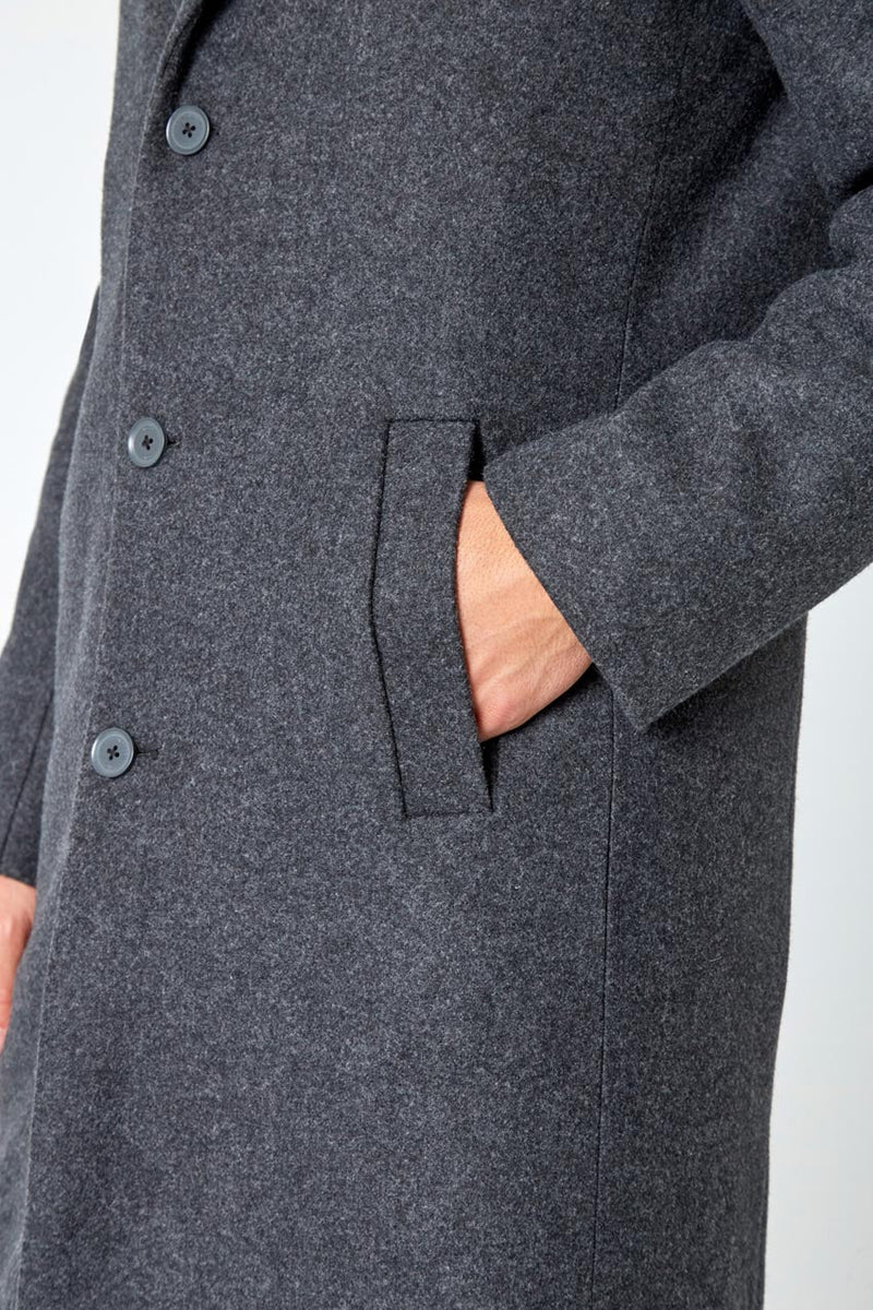 Deal Maker Overcoat with Removable Hooded Fooler