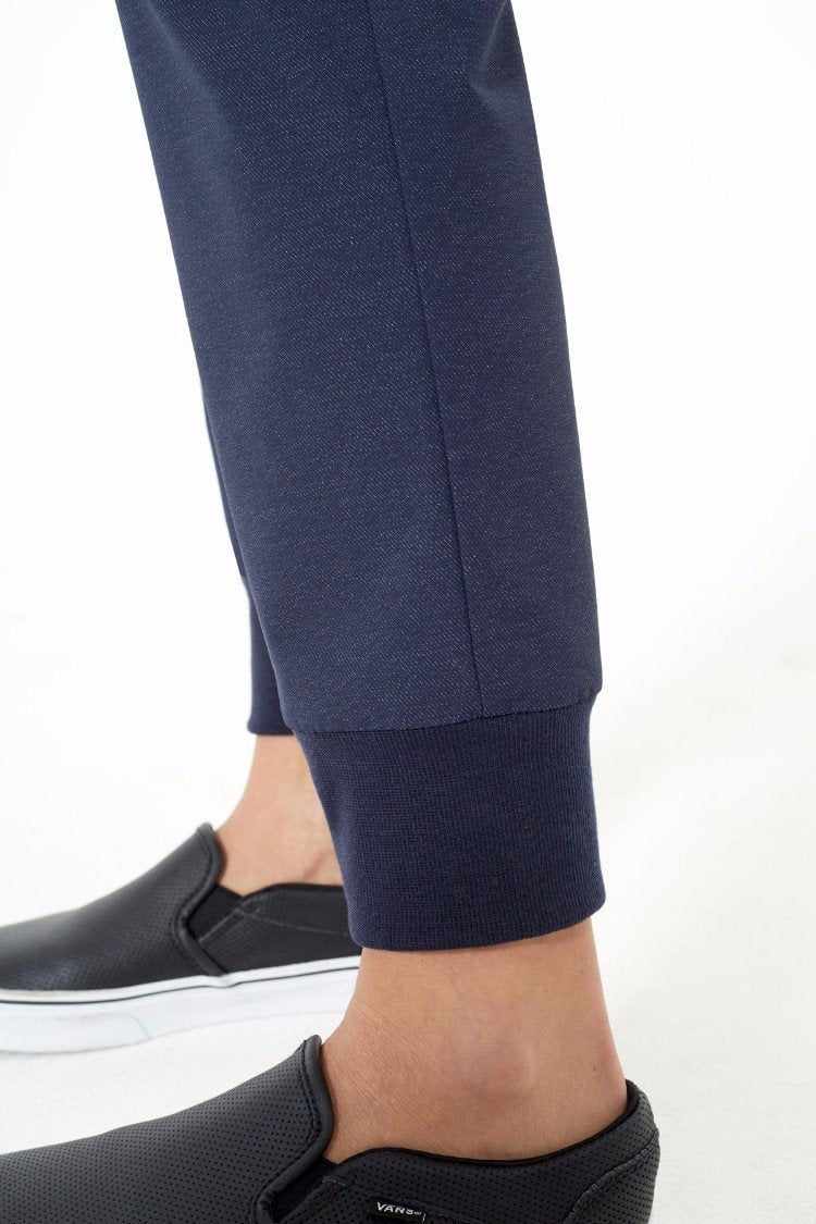 Seamology Skinny Denim-Look Jogger