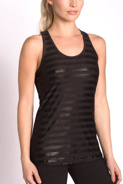MPG Sport's clearance warehouse women's Glam Tank in Black