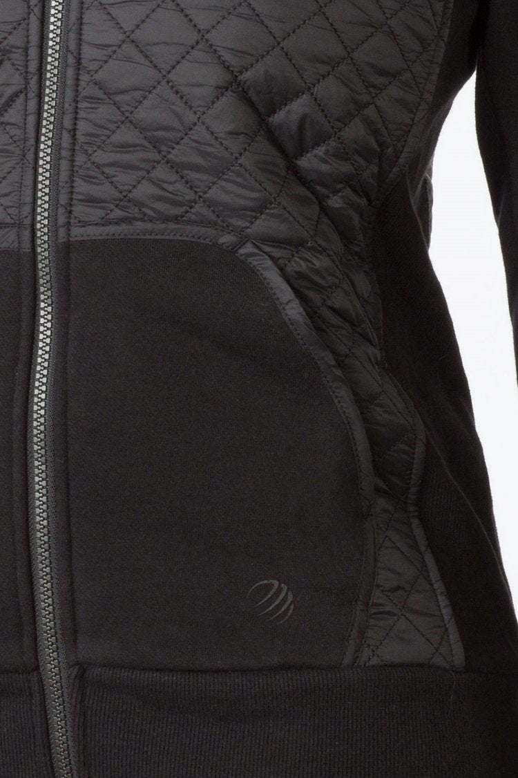 Update Quilted Hoodie