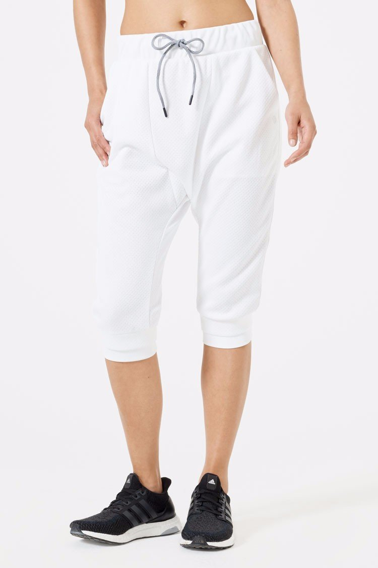 Extra Drop Crotch Crop Pant