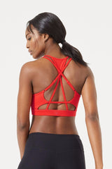 Ama Light Support Strappy Back Bra