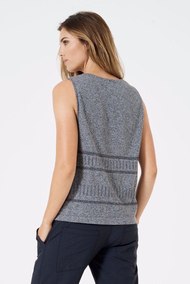 Pause 2.0 Stink-Free Heathered Seamless Tank
