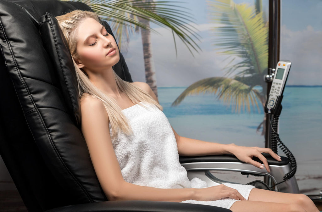 MASSAGE CHAIRS: What do they actually do for you & the science that proves it.
