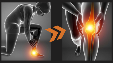 Can Foot Pain Cause Knee Pain?
