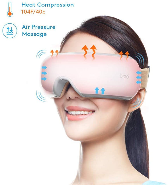 Portable Eye Massager w/ Heat