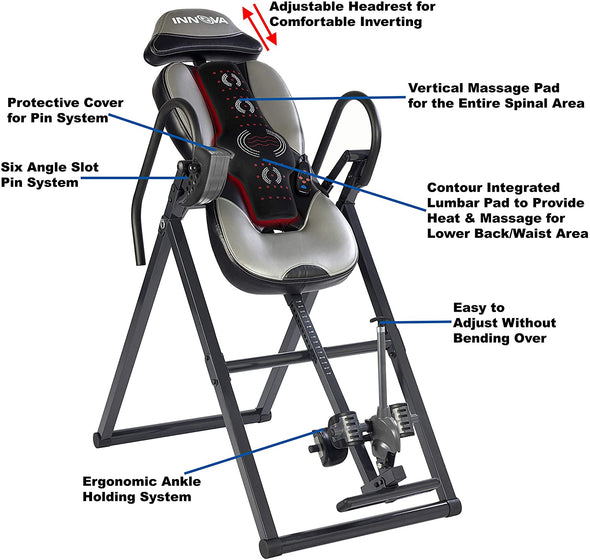 Heat and Massage Inversion Therapy Table