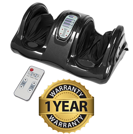 Foot Massager 1 Year Warranty