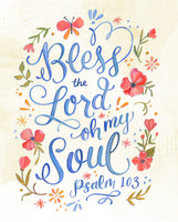 Psalm 103 - Bless the Lord oh my Soul