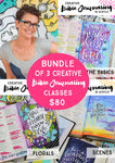 BUNDLE: Creative Bible Journaling in Acrylics- LIVE April 15th!