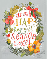 It's the Hap-Happiest Season of All!