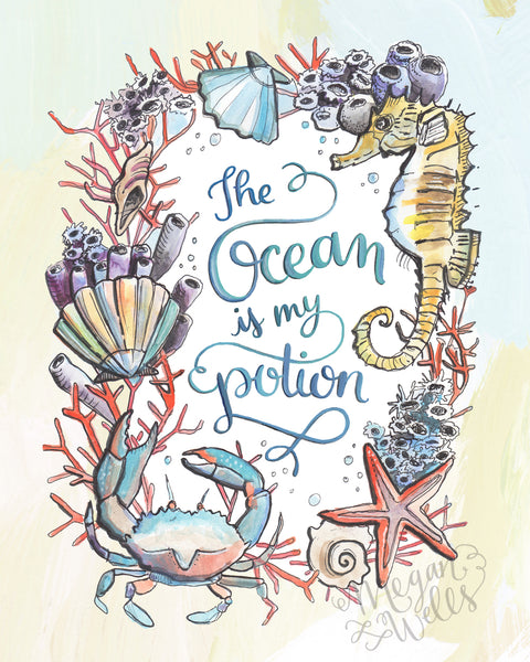 The Ocean is My Potion