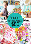 BUNDLE of 3 Classes: Hello Color, Creative Compositions, and Funky Florals