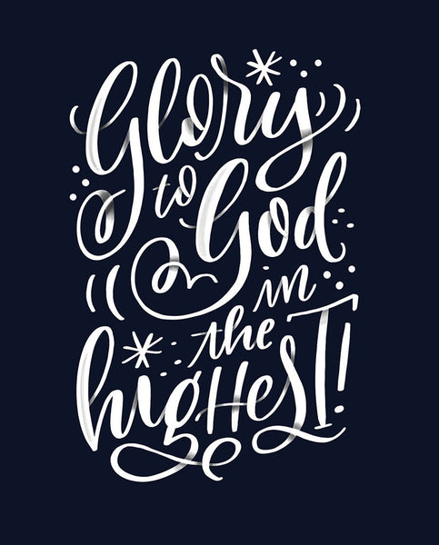 Glory to God in the Highest (Blue)