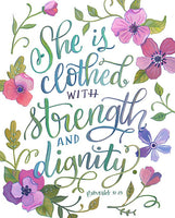 Proverbs 31 - She is Clothed with Strength and Dignity