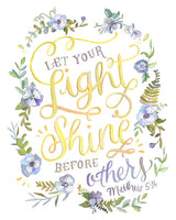 Matthew 5:16 - Let Your Light Shine Before Others