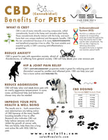 CBD benefits for dogs and pets