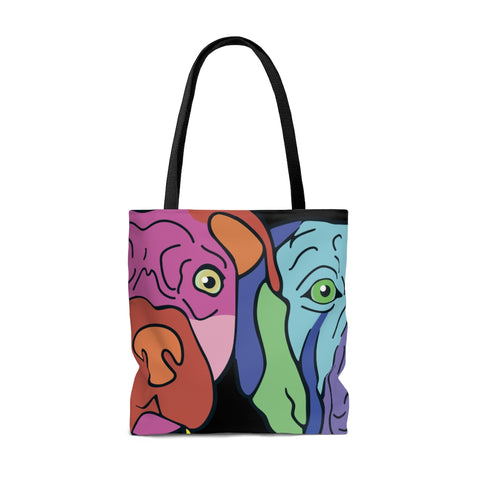 HoneyButter Mask Print Tote