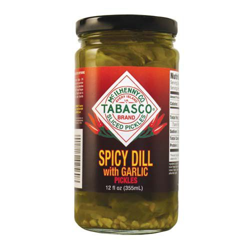 Tabasco Spicy Dill with Garlic Pickles