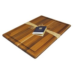 Architec® Madeira™ Teak-Edge Grain Carving Board – Large