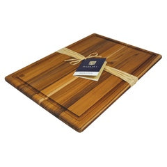Architec® Madeira™ Teak-Edge Grain Carving Board – XL