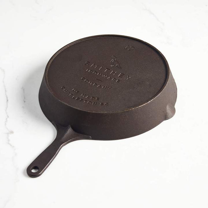 Smithey Ironware No. 12 Traditional Cast Iron Skillet
