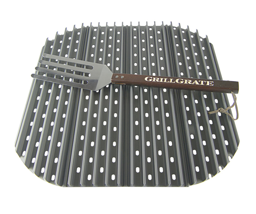 GrillGrates for the XL Green Egg and Big Joe Kamado Grill