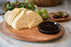 Ironwood: Bread Board With Dipping Bowl