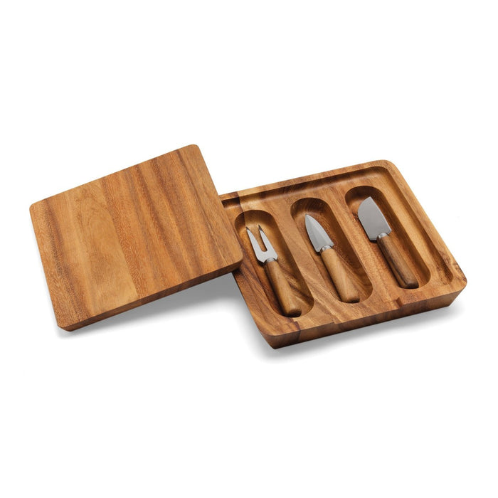 Ironwood Gourmet Cheese Board and Knife Set