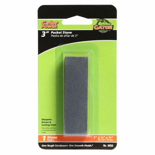ALI INDUSTRIES 6050 Pocket Sharpening Stone, 3-Inch x 7/8-Inch [313379]