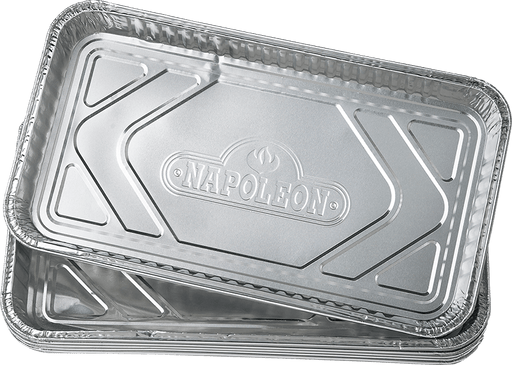 "Napoleon Large Grease Drip Trays (14""x8"") Pack of 5"