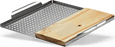 Napoleon Stainless Steel Multi-functional Topper with Cedar Plank