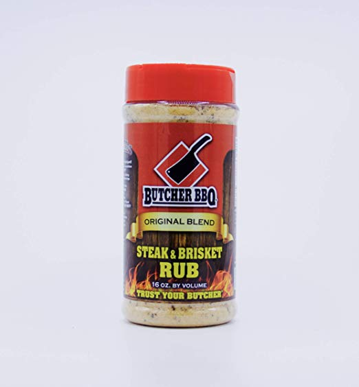 Butcher BBQ Original Blend Steak & Brisket Rub 12oz.